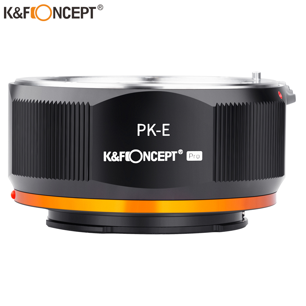 Haoge Lens Mount Adapter for Pentax K PK Mount Lens to Sony E ...