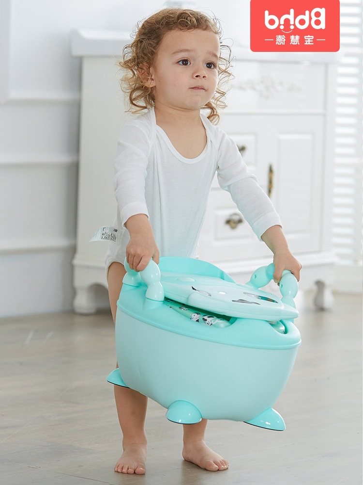 CHILDREN'S Toilet Pedestal Pan Boy Baby Girls Kids Infant CHILDREN'S Potty Urinal Extra-large No. Toilet Toilet