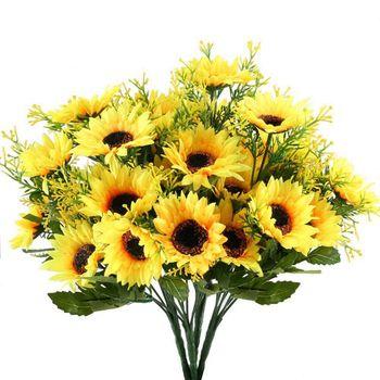 16 Unidsset Flores Artificiales Para Bebés Flores De Yeso