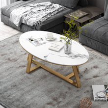 Simple Iron Marble Coffee Table In The Living Room Balcony Coffee Milk Tea Shop Office Level Coffee Table Combination Tea Table simple tea table tea table balcony leisure small table