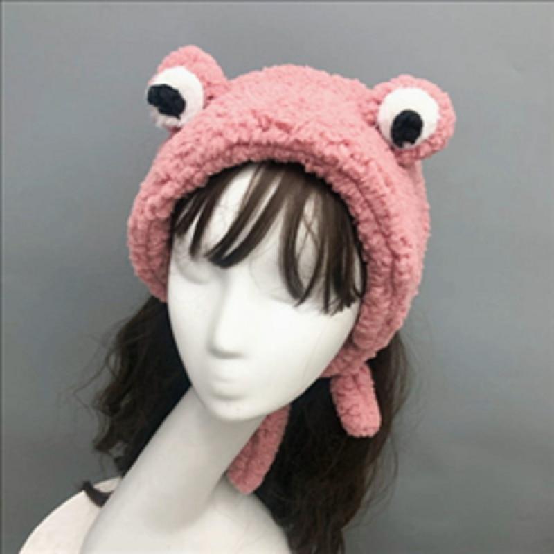 2019 new fashion pluszowa opaska do włosów śliczne duże oczy żaba super szeroki ornament głowy lamb ozdoba do włosów dla dzieci dorosły pałąk