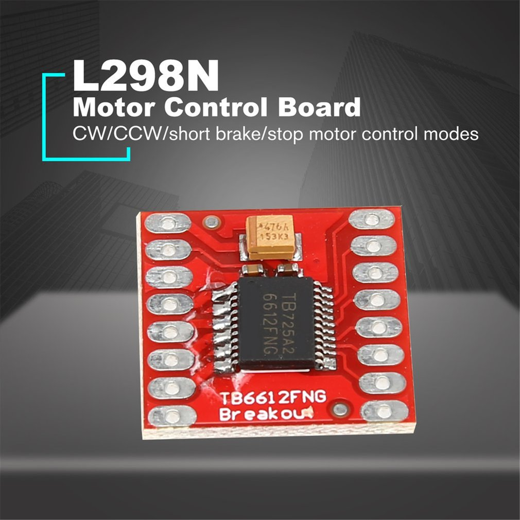 TB6612FNG / TCS3200Dual DC Stepper Motor Control Drive Expansion Shield Board Module For Arduino Microcontroll Better Than L298N