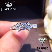 Natural Diamond 18K Gold Pure Ring Beautiful Gemstone Good Upscale Trendy Classic Party Fine Jewelry Hot Sell New 2020