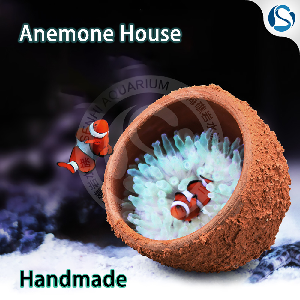 Senhi Biotech Reef Tank Anemone Nest Marine Life Home Anemone Home Anemone Lair Handmade
