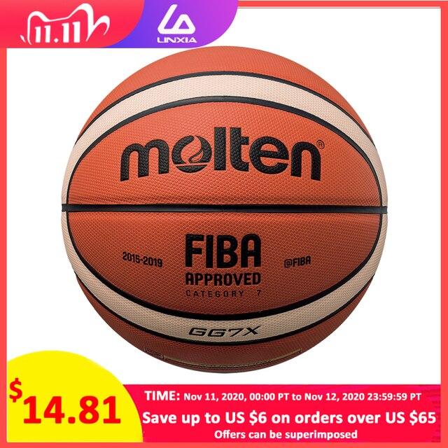 新しい高品質バスケットボールボールの公式サイズ7/6/5 puレザー屋外屋内マッチトレーニング男性女性バスケットボールbaloncesto