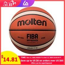 Neue Hohe Qualität Basketball Ball Offizielle Größe 7/6/5 PU Leder Outdoor Indoor Spiel Training Männer Frauen Basketball baloncesto