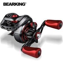 BEARKING 8+1BB Baitcasting Reel 8KG Max Drag 7.3:1 High Speed Fishing Reel Reinforced Reel Drag Reel Carp Drag Reel Fishing