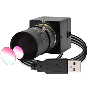 Камера видеонаблюдения с переменным фокусным расстоянием 5-50 мм, USB-камера, 8 Мп, высокое разрешение, SONY IMX179 Mini HD 8MP, промышленная USB камера для ...