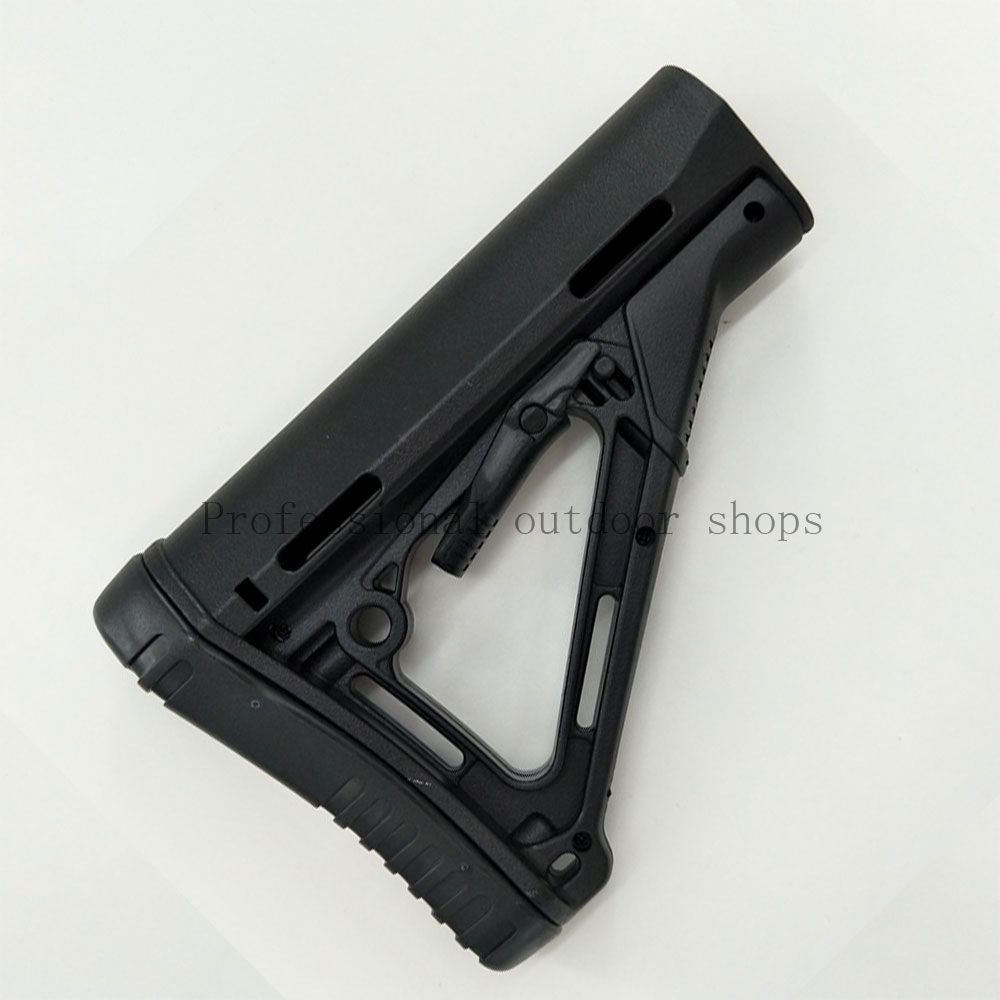 TOtrait Tactical Gun Rifle CTR Stock Rear Carbine Fixed Stock For M4 Water Bullet Airgun Equipment Butt CS Hunting Accessory