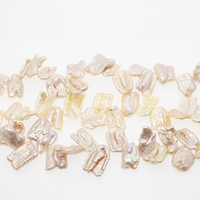 Natural Freshwater Pearls Personality Irregular Flat Beads Jewelry Making DIY Necklaces Bracelets Earrings Jewelry Accessories