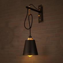 Vintage Iron LED Wall Lamps Industrial Sconces Bedroom Light Fixture Bedside Bar Restaurant Cafe Loft Decor Corridor Wall Light