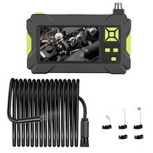2m 5m 10m P30 IP67 Waterdichte Schlange Buis Borescopen 4,3 zoll Industriële Endoscoop 1080P Inspectie Kamera voor Auto Reparatie T
