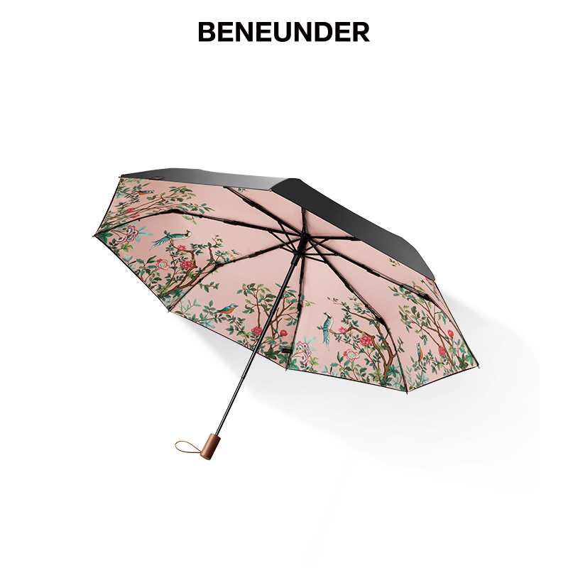 High Quality Umbrella Double Layer Wind Resistant Parasol Umbrella Folding Portable Paraguas Grande Household Products OO50YS