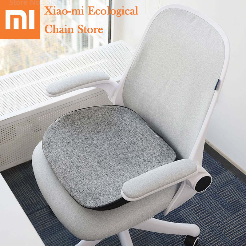 Xiaomi Massage Warm Multifunction Intelligent Cushion Pillow Infrared Heating Redress Sitting Posture For Computer Office Chair