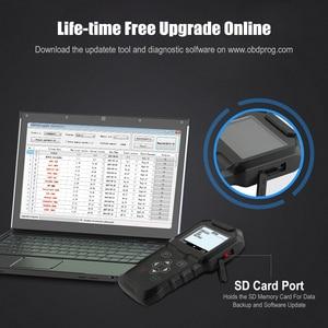 Image 5 - OBDPROG MT601 OBD2 סורק מד מרחק תיקון מפתח מתכנת מקצועי EEPROM קורא כלי אבחון עדכון חינם לכל חיים