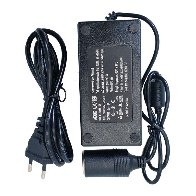 Адаптер переменного тока постоянного тока 110 В 220 В до 12 В 2A 5A 8A 10A адаптер питания автомобильный прикуриватель конвертер инвертор 220 в 12 В заж...