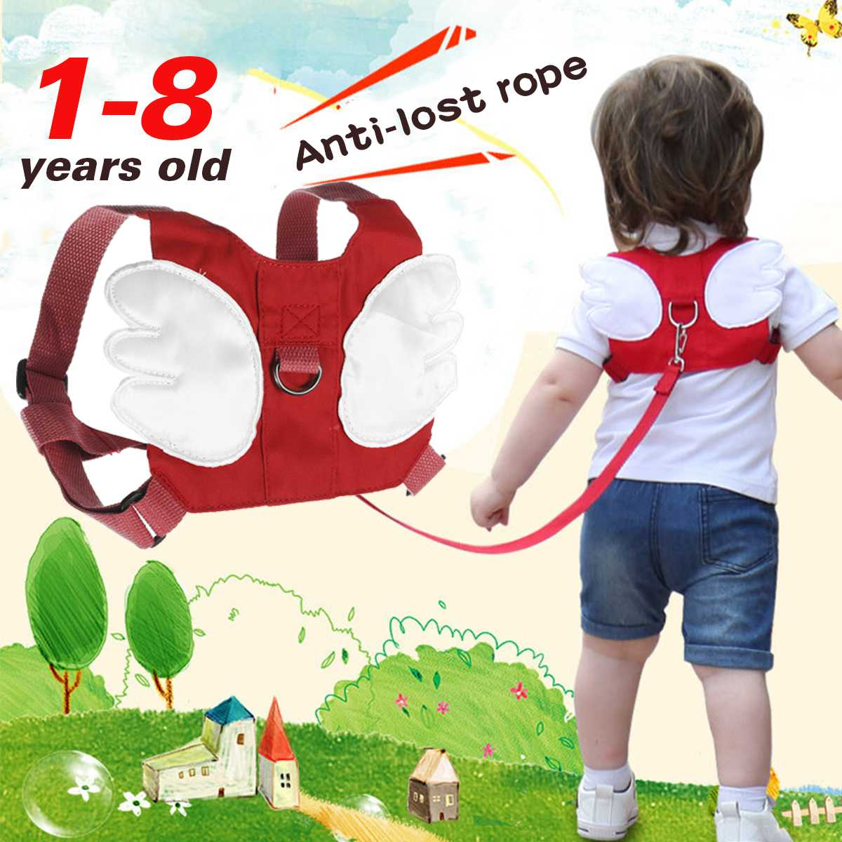 Anti-Lost Band Baby Kid Child Safety Harness Anti Lost Strap Wrist Leash Walking Safety Children Adjustable Rope Blue/Green/Red
