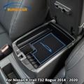 Xburstcar Автомобильный интерьер ABS подлокотник коробка коробки для хранения чехол для Nissan X-trail Xtrail T32 Rogue 2014 - 2020 аксессуары