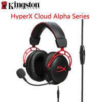 Casque de jeu e-sports Original Kingston HyperX Cloud Alpha en édition limitée avec microphone casque pour PC PS4 Xbox Mobile