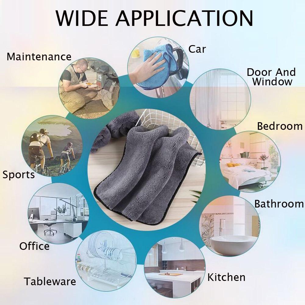 carro da toalha de microfibra da lavagem