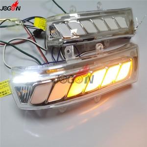 Image 3 - Für Toyota Sienna Highlander RAV4 Previa Alphard Noah 07 13 Dynamische Blinker Licht LED Seite Spiegel Sequentielle Anzeige lampe