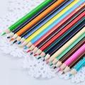 12 цветных карандашей из натурального дерева  цветные карандаши для рисования  цветные карандаши для школы  офиса  художественной живописи  ...