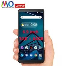Original Globla Version Lenovo Tab V7 PB 6505M 5180mAh 6.9 inch 3GB RAM 32GB ROM Snapdragon 450 Octa Core 4G Mobile phone
