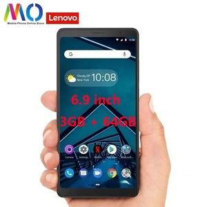 Image 1 - Original Globla Version Lenovo Tab V7 PB 6505M 5180mAh 6.9 inch 3GB RAM 32GB ROM Snapdragon 450 Octa Core 4G Mobile phone