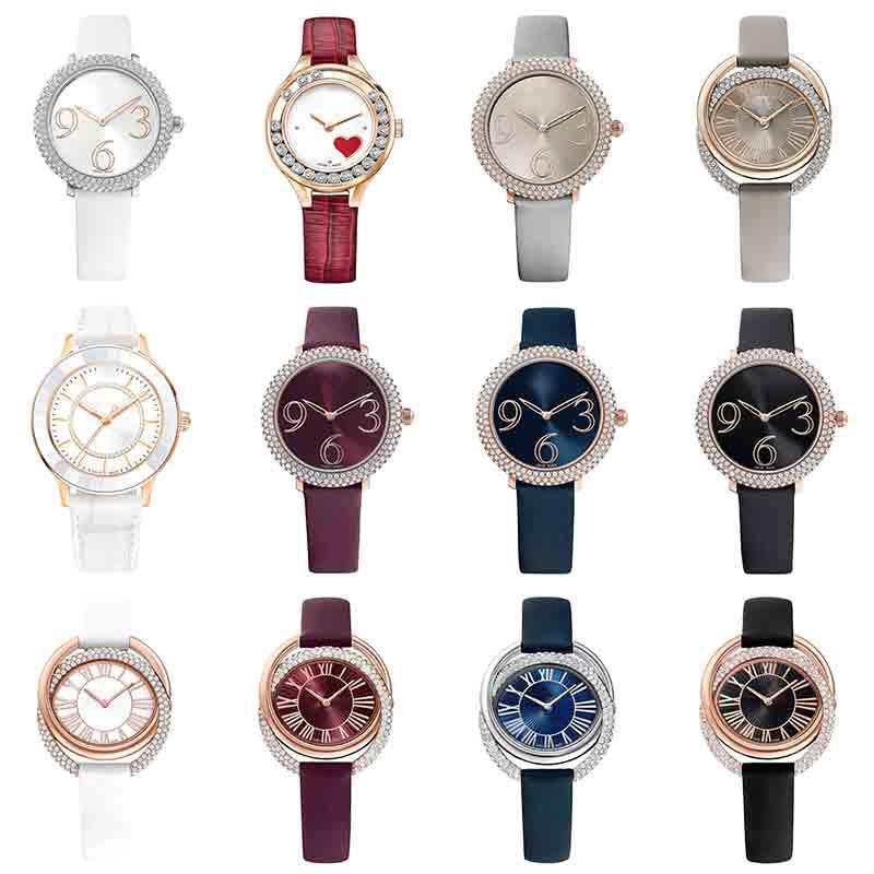 Original SWA Austrian Brand Luxury Watch Crystal Tungsten Steel Watch With Original Logo Men And Women Couple Watches Wholesale