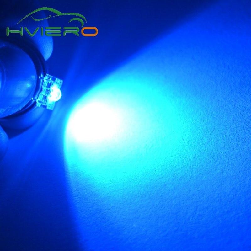 100 Pcs Super Flux Led Light 5Mm Piranha Green Bulb gi