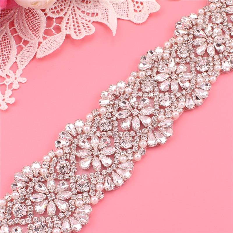 Wedding dress belt bridal belt pearl rhinestone belt evening dress belt wedding accessories