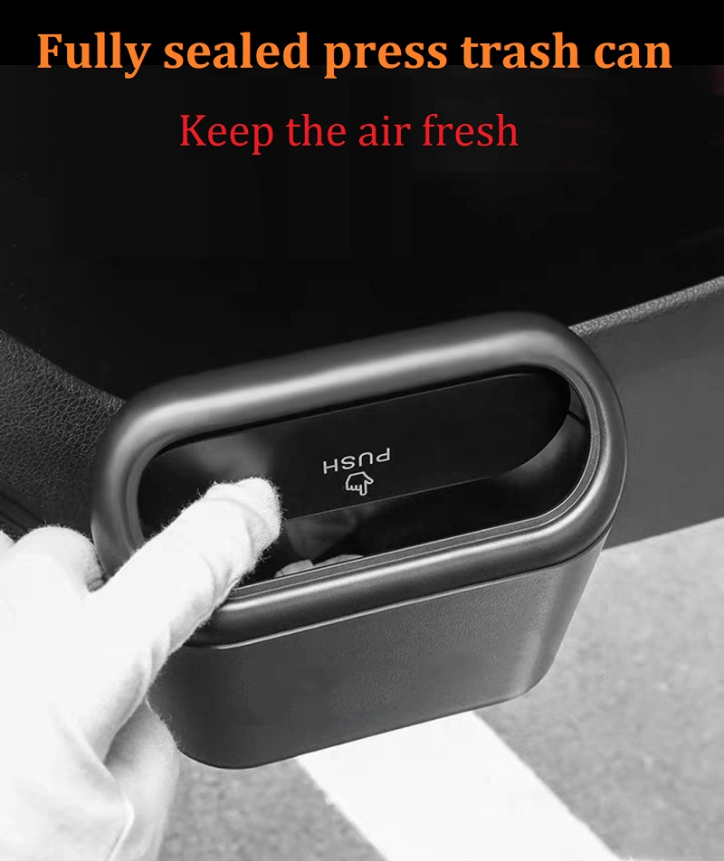 1-Car Trash Can