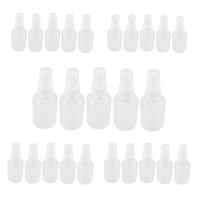 25 шт 30 мл пустой спрей бутылки прозрачный малый размер удобный многоразовые пластиковые путешествия бутылки Атомизатор насос для