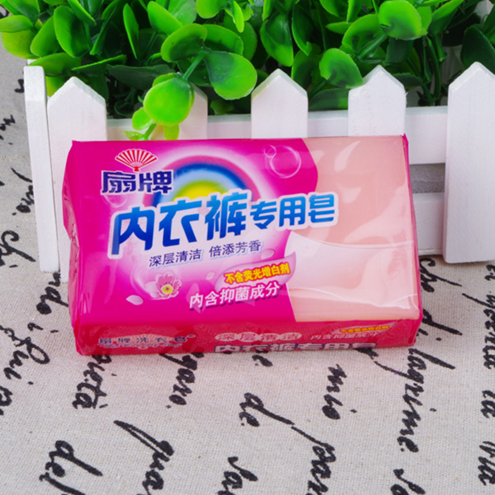 180g Underwear Deodorizing Laundry Detergent Practical Hygiene Stain Removing Disinfection Durable Cleaning Soap