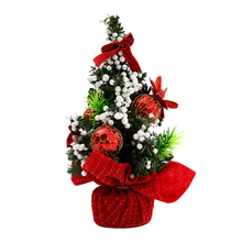 Artificial Tabletop Mini Christmas Tree Decorations Festival Miniature 20cm Room Decor Home Decoration Accessories