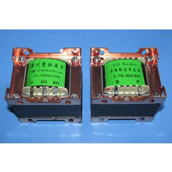 For tube amplifier FU50 6P3P EL34, 3.5K / 4Ω 8Ω amplifier single-ended output transformer, Z11 iron core EI66 * 30 / 40mm image