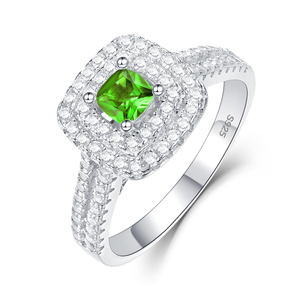 Image 3 - Kuololit Diaspore Sultanite Gemstone Ring for Women Solid 925 Sterling Silver Color Change Turkey zultanite Wedding Fine Jewelry