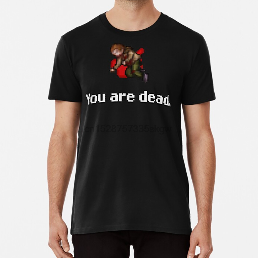 You Are Dead. T Shirt Tibia Mmorpg Mmo Rpg image