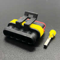 2 sets pcs Tyco 5 Pins Female Automotive Cable Plug Automotive Parts Wire Plug Superseal Waterproof Electrical Sealed connector