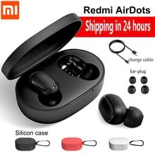 Xiaomi Redmi Airdots TWS Bluetooth Earphone BT 5.0 Stereo Bass Wireless Noise Reduction Headset Mic