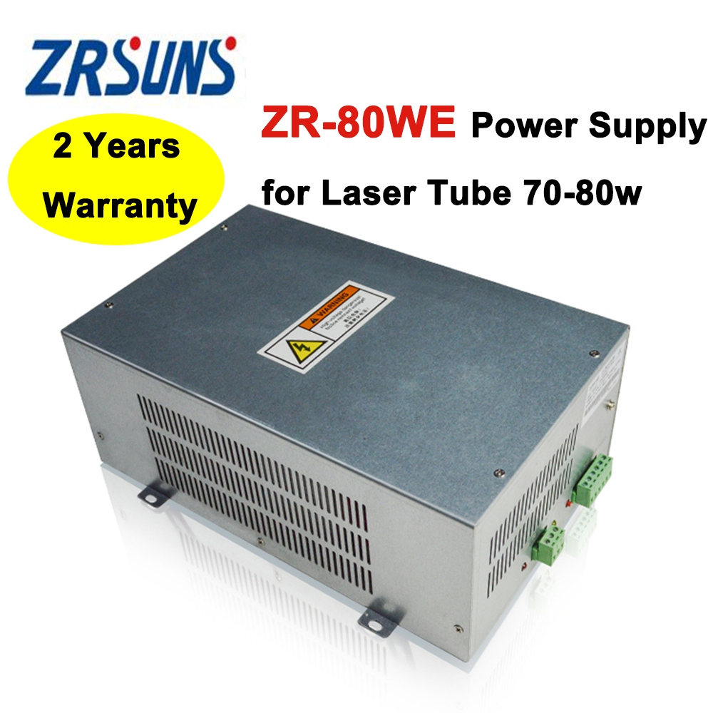 ZR-80WE 80W Laser Power Supply For Co2 Laser Engraving And Cutting Machine