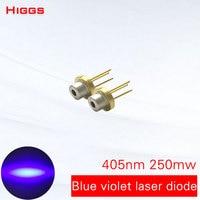 Vender https://ae01.alicdn.com/kf/H155f156cc63f42c1b928c939b98a4c79P/Larga vida 405nm 250mw azul violeta láser diodo semiconductor Dispositivo láser cabeza módulo localizador fuente de.jpg