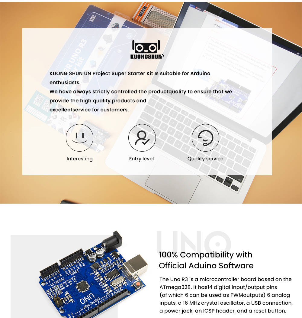 2019 najbardziej opłacalne DIY projekt startowy elektroniczny zestaw do majsterkowania z samouczkiem kompatybilny z Arduino IDE UNO R3 CH340 2