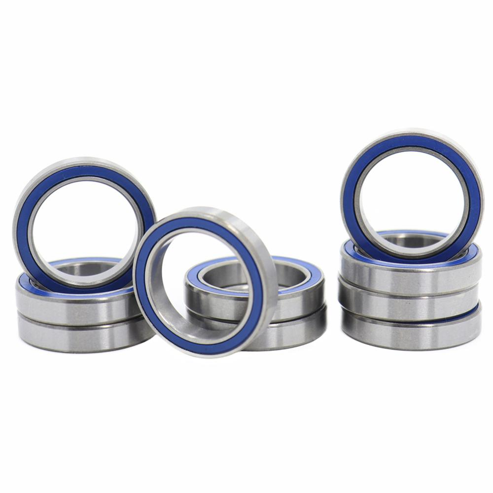 15x21x4 mm 6702-2RS 4 PCS Rubber Sealed Ball Bearing Bearings 6702RS Blue