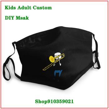 High Quality masque tissus lavable Trombone Life mascarillas con filtro estampadas kids men women children face mask