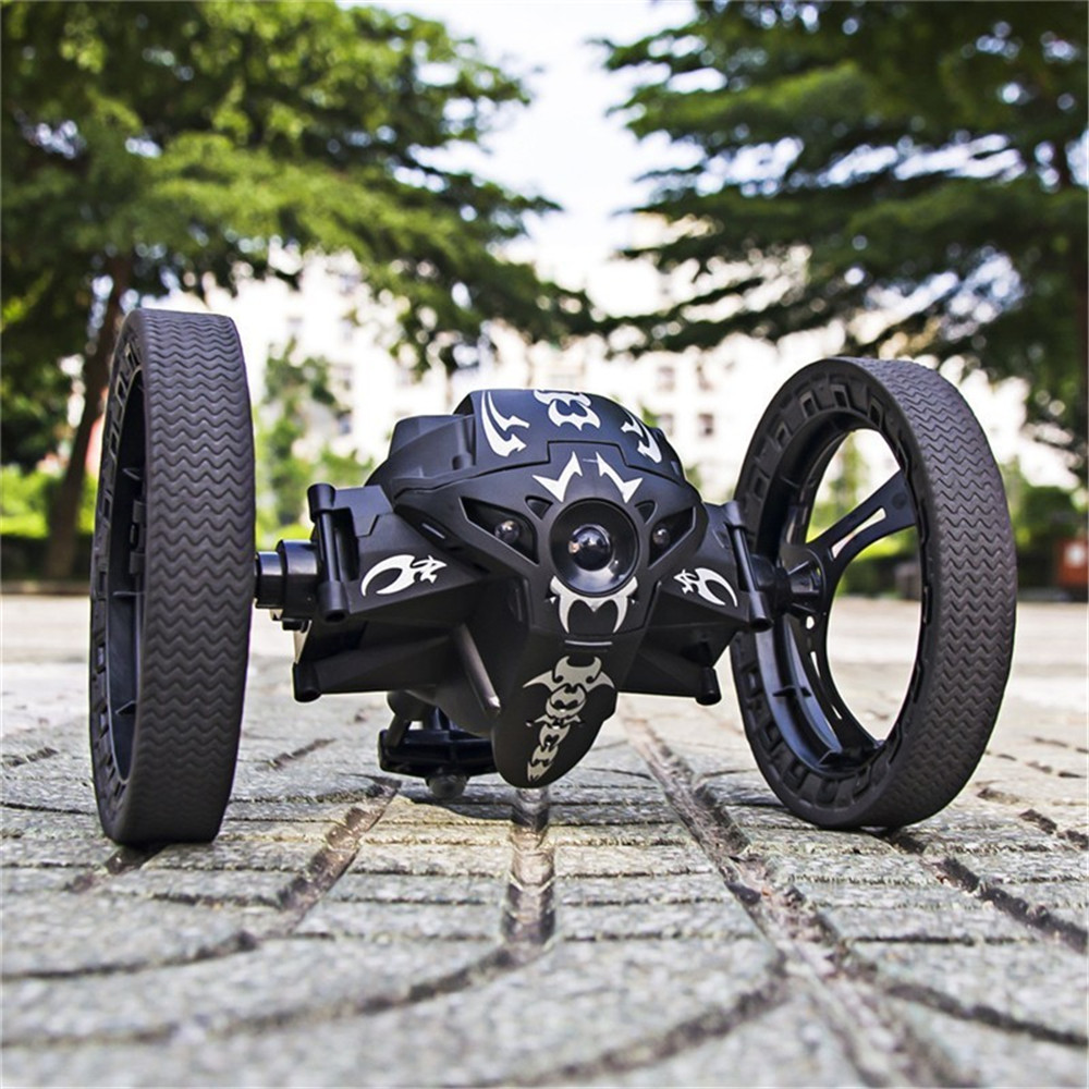 RC Car Bounce Car Remote Control Toys RC Robot <font><b>80cm</b></font> High Jumping Car Radio Controlled Cars Machine <font><b>LED</b></font> Night Toys Kids Gifts image