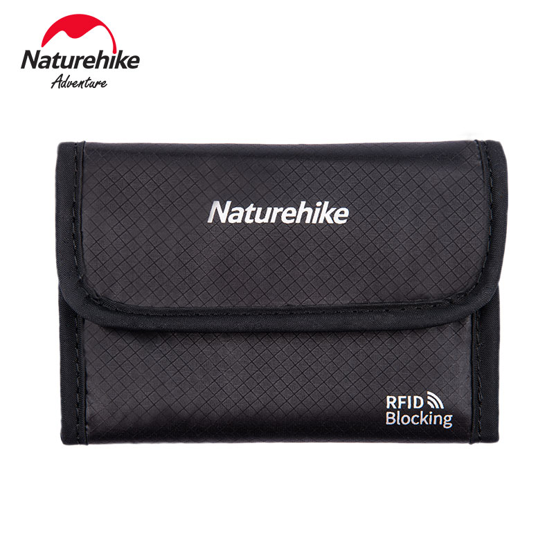 Naturehike RFID Blocking Travel Wallet Multi-function Travel Ticket Anti-splashing Water Proof  Storage Bag NH20SN003