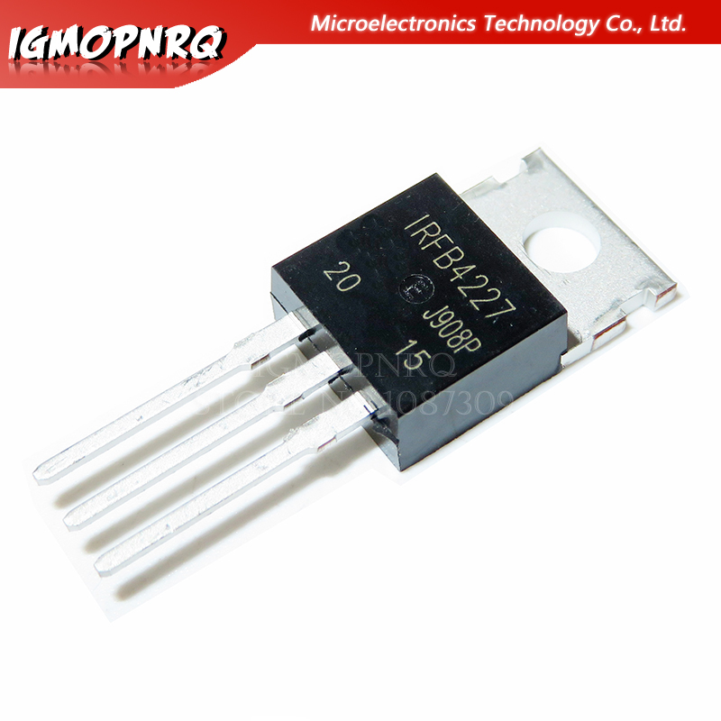 10pcs IRFB4227PBF IRFB4227 TO-220 MOS FET Transistor New Original