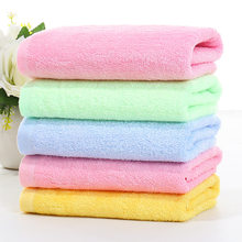 Bamboo Fabric Plain Weave Towel Five Pieces Color 33X73 New Era Fashion Items Orange Green Blue Yellow(China)