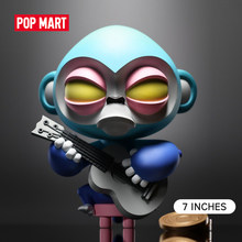 POP MART Grossa Halu LingLob-Mambo 7 pollici GID colore Blu art collection giocattoli animali di figura 6989820020033(China)